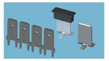 New quick-fit terminals Keystone