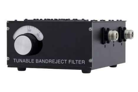 3 section tunable band reject filter
